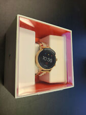 Brand New in Box Fossil Gen 4 Smartwatch Venture HR Rose Gold Stainless FTW6011