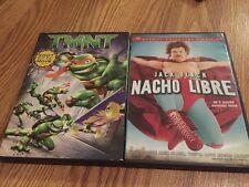 2 MOVIES,  TMNT (DVD, 2007) Teenage Mutant Ninja Turtles & NACHO LIBRE DVD