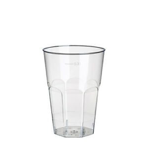 Papstar 0,27€/Stk. Latte Macchiato Gläser 60 Stück PS 0,3l 11cm Kaffee Bar