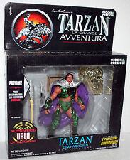 TARZAN - TARZAN CON ARMATURA ALTO 15 CM CIRCA NUOVO CON SCATOLA