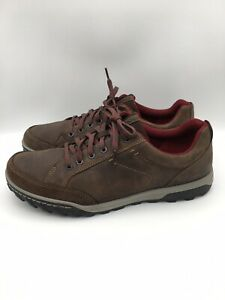 ECCO Receptor Technology Shoes Brown Hiking Trail Casual Walking  Mens Size 46
