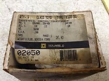 Square D9070-K100D1 .100 kVA 100 VA Transformer 9070K100D1 New