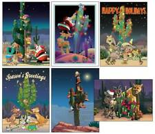 Assorted Western Christmas Cards - 24 Boxed Christmas Cards and Envelopes - 88
