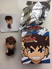 """BOXED 3"""" SMALL KIDROBOT STREET FIGHTER SERIES 1 RYU ACTION FIGURE"""
