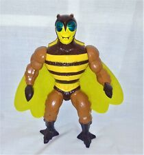 Vintage Motu He-Man Masters Of The Universe Buzz-Off  Mattel 1983 Soft Head