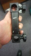 daiwa 13cm bracket for 25mm dia legs (used) match fishing box accessory