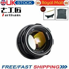 UK 7artisans 35mm F1.2 Standard Manual Fixed lens fr Sony E-mount With Free Gift