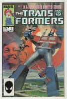 The Transformers #1 (Sep 1984 Marvel) [1st Print] Springer, Bill Sienkiewicz X