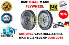 Pour A05 Opel Vauxhall Zafira Mk II B 2.2 2005-2014 Neuf Volant Moteur Bimasse