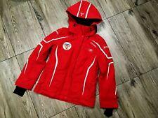 Schoffel Jacket Ski Snowboard Gore-Tex Hood Pro shell Engelberg scholl Red Swiss