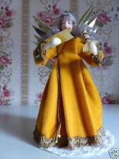 Rauschgoldengel Engel mit Wachskopf Dekoration Weihnachten