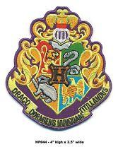 Harry Potter Fancy Crest Patch - Hp044
