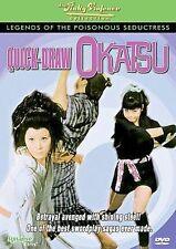 Quick-Draw Okatsu - Legends Of The Poisonous Seductress DVD Region 0---1969 OOP