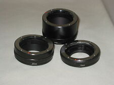 SET OF HOYA EXTENSION TUBES TO FIT OLYMPUS OM