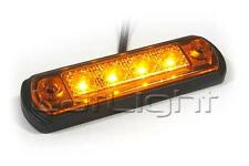 6pcs. LED Side Marker Lights 12V 24V MAN Orange Position Lamp Truck 12 24 Volt