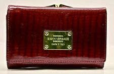 Gianni Versace authentic Red Snake Leather Purse woman, vintage Designer