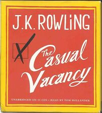 Casual Vacancy by J. K. Rowling (2013, CD, Unabridged) - Adult Fiction Audiobook