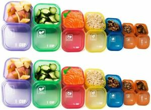 14 pack 21 Day Fix Portion Control Containers Kit Beachbody Meal Plan