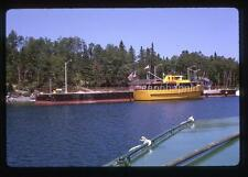 Vintage 1963 Slide Photo ISLE ROYALE QUEEN II Passenger Ferry Boat Michigan Ship