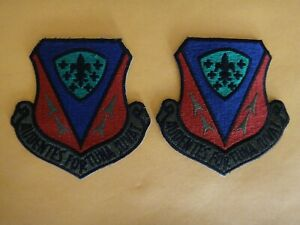 2 US Air Force 366th Tactical Fighter Wing AUDENTES FORTUNA JUVAT Patches