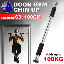 Door Chin Up Bar Portable Doorway Push Pull Up Home Exercise Workout Fitness Gym