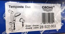GROHE TEMPESTA DUO SLIDER RAIL AND TEMPESTA DUO SHOWER HANDSET 28500003 VAT INCL