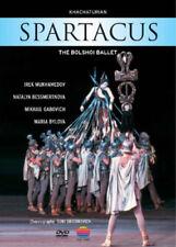Spartacus: The Bolshoi Ballet DVD (2005) Alygis Zhyuraitis ***NEW***
