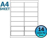 L7163 Self Adhesive Shipping Labels 14 Per Sheet 100 Sheets 63.5 x 38.1mm NONOEM