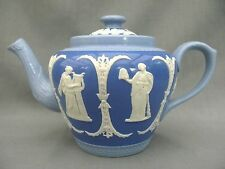 A great little Jasper Ware Dudson Brothers tricolour teapot