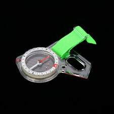 9.4CM Outdoor Portable Mini Thumb Compass with Map Scale for Orienteering Hiking