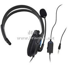 DELUXE Cuffia Auricolare singolo orecchio con Microfono + controllo del volume