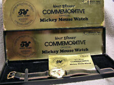 50 Happy Years WDP Commemorative Mickey Mouse Watch near N.O.S. MINT in box!!!