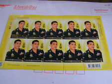 THAILAND Mint new released 28 July sheet of 10 stamps each  value 10Baht Rama10