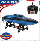 US RC Racing Boat Brushless 2.4GHz 20km/h High Speed Electronic Boat Gifts B6L4