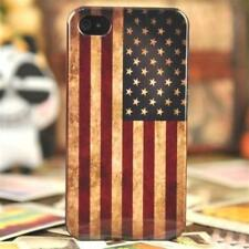 Case USA Flag IPHONE 4/4S, Case Retro Cover US Flag Vintage