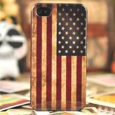 case USA Flagge iPhone 4 / 4S, Hülle retro cover US Flag Fahne vintage