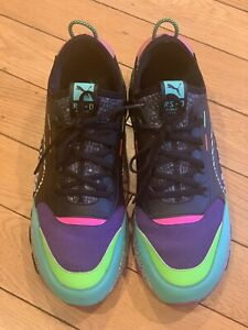 PRE-OWNED Puma RS-0 Game Error Size 12 MEN Retro Arcade Green Pink Black