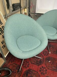 Mid-Century Style Pair Of Chairs