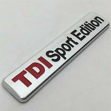 NEW TDI SPORT EDITION Badge emblem VW Golf GT Passat Caddy Bora Eos Polo CC R