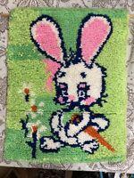 1978 Betty/'s Rug Squares Latch Hook Kit Mushroom Pattern UNOPENED 12 x 12 70/'s Boho Latchhook