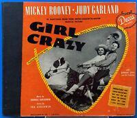 Mickey Rooney Judy Garland 78 rpm Record Girl Crazy Decca 1944