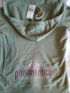 Juicy Couture  NWT Princess Fleece Sweatshirt/Hoodie sz P