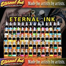 ETERNAL 25 COLOR TATTOO INK SET 1oz 30ml #1
