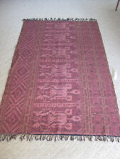 VINTAGE INDONESIA HANDWOVEN HANGING//COVER WARRIOR/TEXTILE