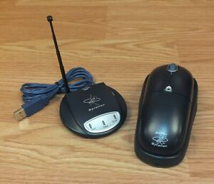 Gyration Wireless Ultra Cordless Optical Mouse (GP4101) & USB Mini Dual Receiver