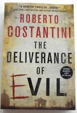 NEW  Roberto Costantini  THE DELIVERANCE OF EVIL   Advance Reader Copy   ARC