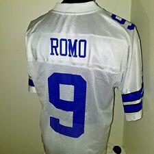Reebok Tony Romo Dallas Cowboys #9 Football ON The FIELD Jersey Size M