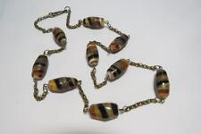 CG3665....HANDMADE LAMPWORK GLASS BEADED NECKLACE - FREE UK P&P