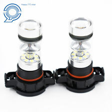 100W 6000K 5202 LED Fog Lights Fit For 07-15 Chevrolet Silverado 1500 2500 3500