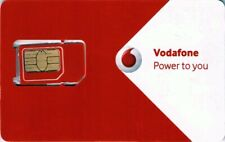 Vodafone Ireland 4G 3 in 1 Sim Card for Free EU Rooming